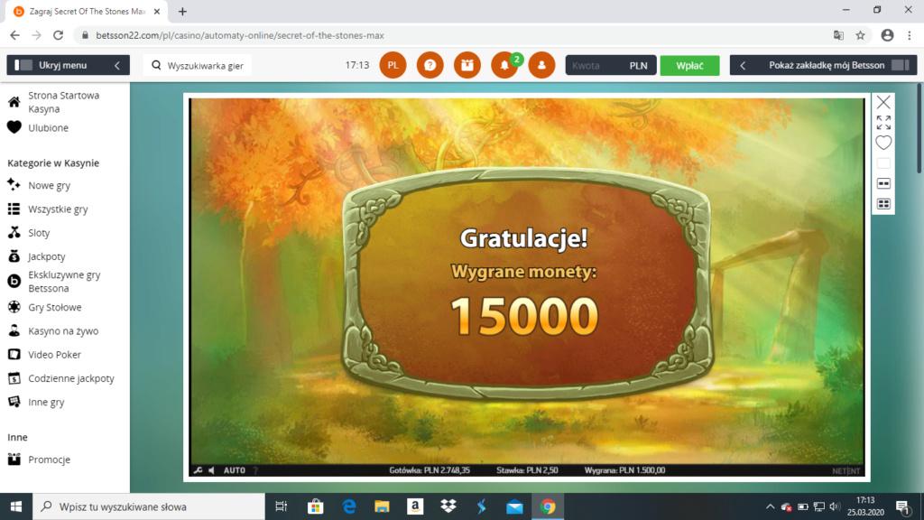 Screenshoty naszych wygranych (minimum 200zł - 50 euro) - kasyno - Page 40 Betsso11