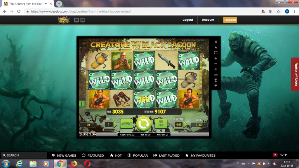 Screenshoty naszych wygranych (minimum 200zł - 50 euro) - kasyno - Page 16 Videos11