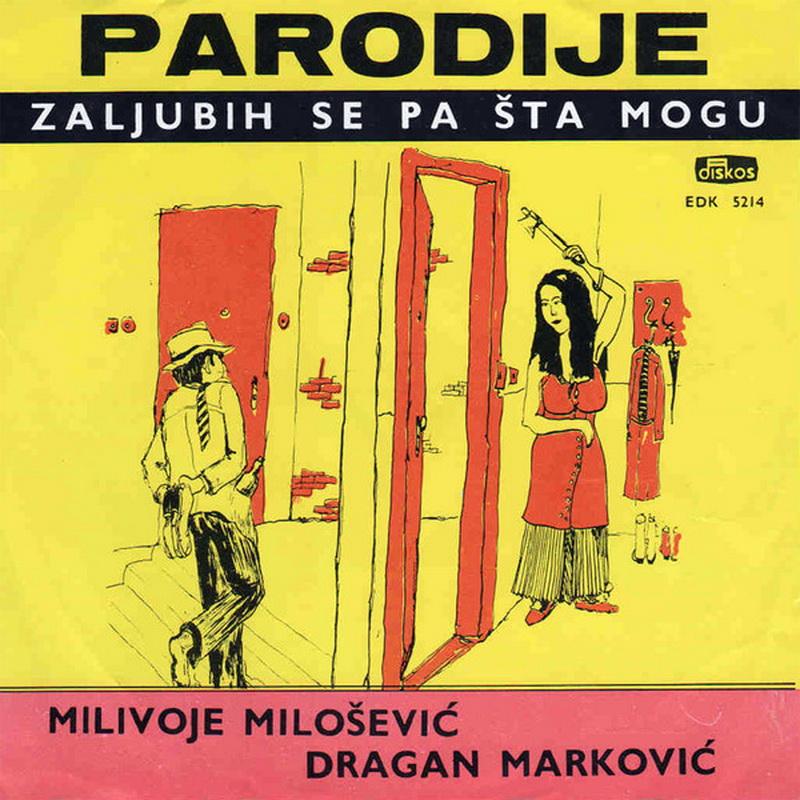 Milivoje Milosevic i Dragan Markovic - 1968 - Zaljubih se pa sta mogu  Milivo10