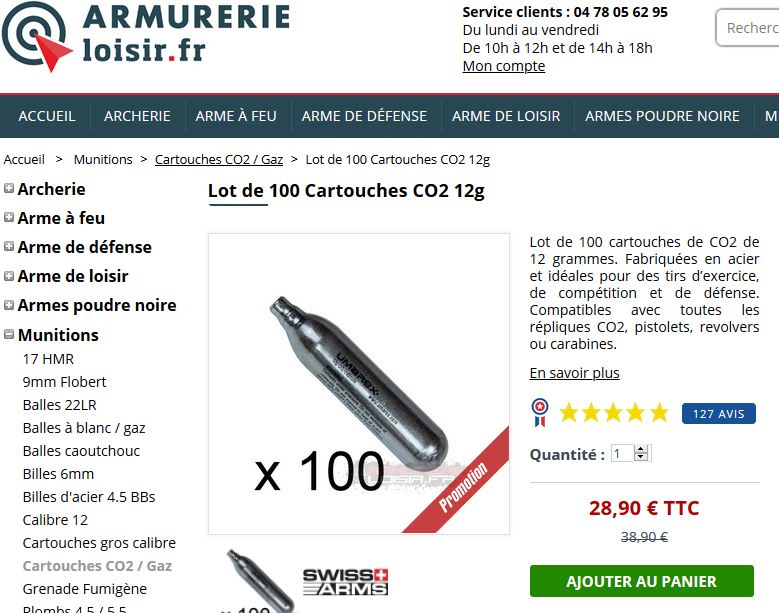 cartouche co2 12g rechargeable - Page 2 Actrio10