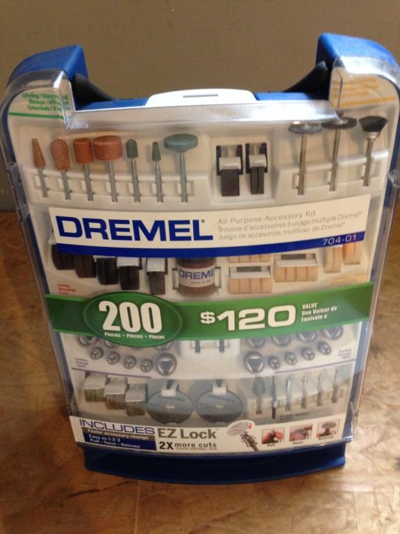 Acessórios para Dremel 200 peças  Img_4719