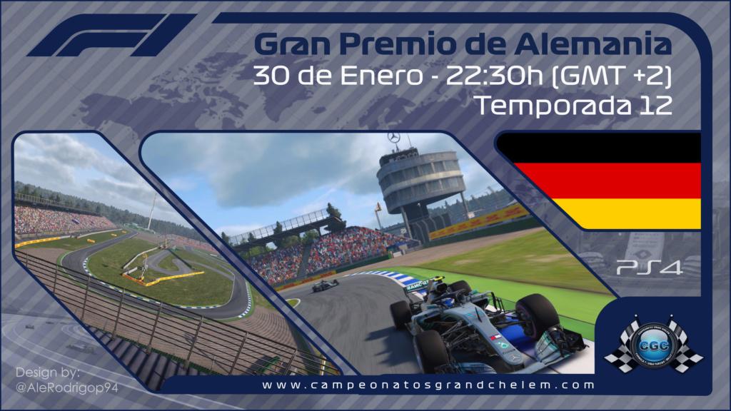 Confirmación asistencia entrenamientos oficiales GP de Alemania Rd01_c11
