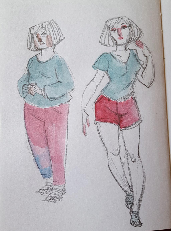 Sketchbook : IsaArne [ Challenge de l'ete P7 ] - Page 5 20180746
