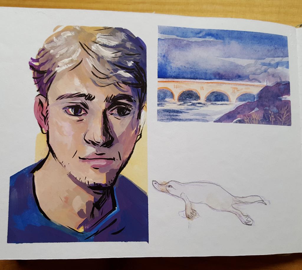 Sketchbook : IsaArne [ Challenge de l'ete P7 ] - Page 6 20180814