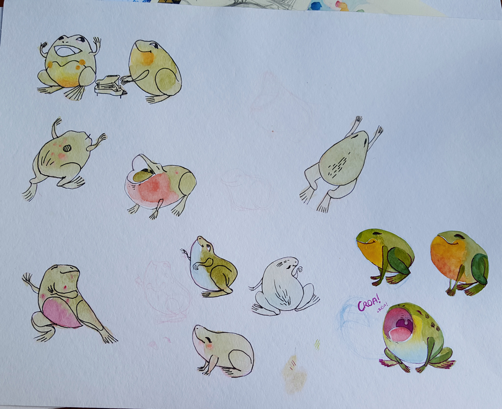 Sketchbook : IsaArne [ Challenge de l'ete P7 ] - Page 6 20180819