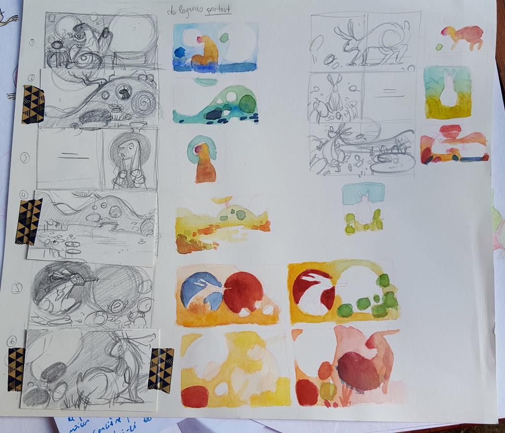 Sketchbook : IsaArne [ Challenge de l'ete P7 ] - Page 6 20180820