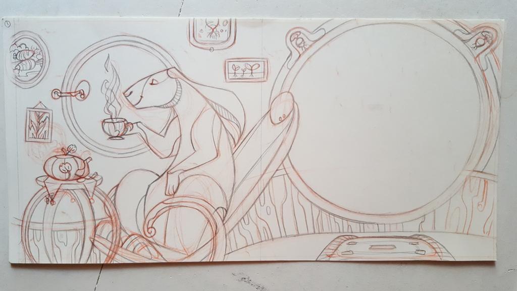 Sketchbook : IsaArne [ Challenge de l'ete P7 ] - Page 6 20180821