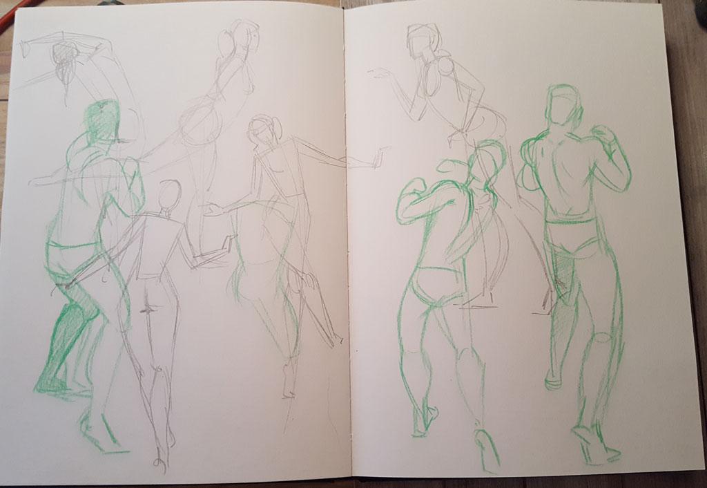 Sketchbook : IsaArne [ Challenge de l'ete P7 ] - Page 6 20180915
