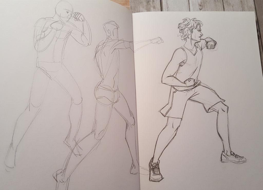 Sketchbook : IsaArne [ Challenge de l'ete P7 ] - Page 6 20180916