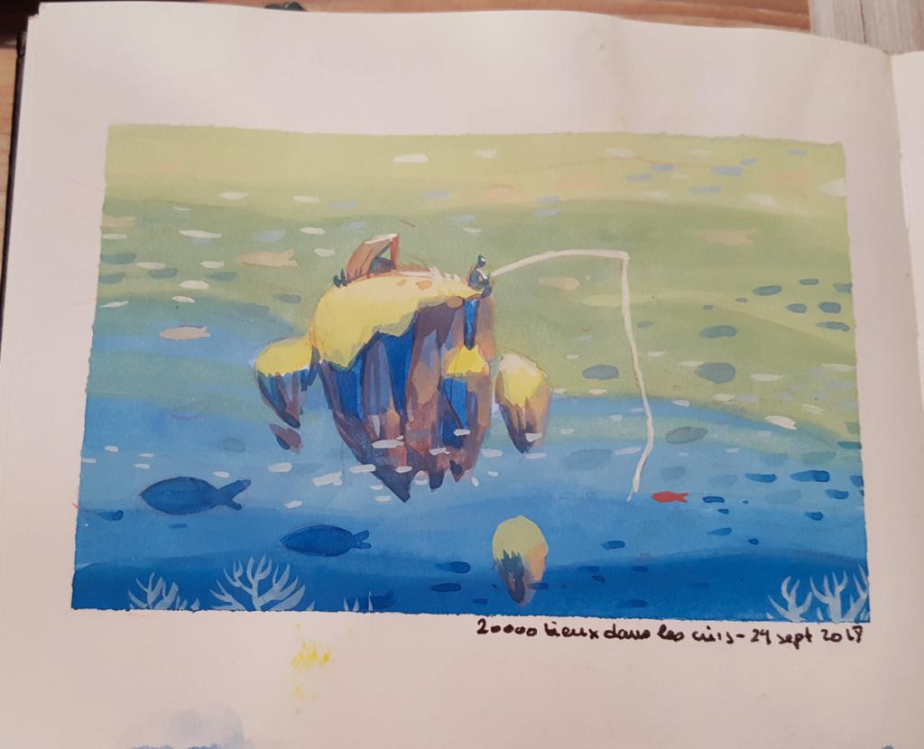Sketchbook : IsaArne [ Challenge de l'ete P7 ] - Page 6 Facecr19