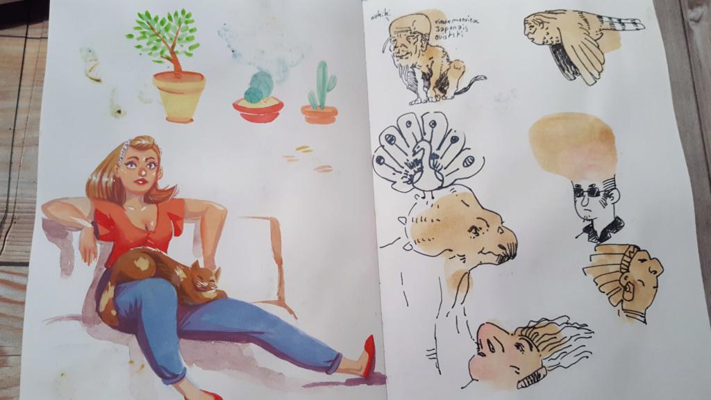Sketchbook : IsaArne [ Challenge de l'ete P7 ] - Page 6 Facecr20