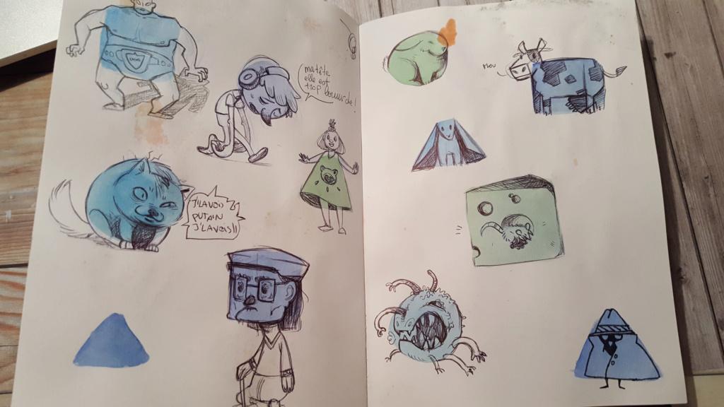 Sketchbook : IsaArne [ Challenge de l'ete P7 ] - Page 6 Facecr21
