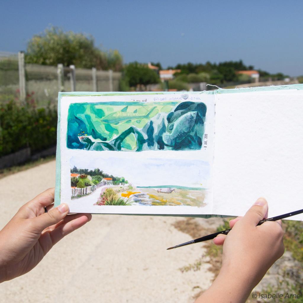 Sketchbook : IsaArne [ Challenge de l'ete P7 ] - Page 7 Illust12