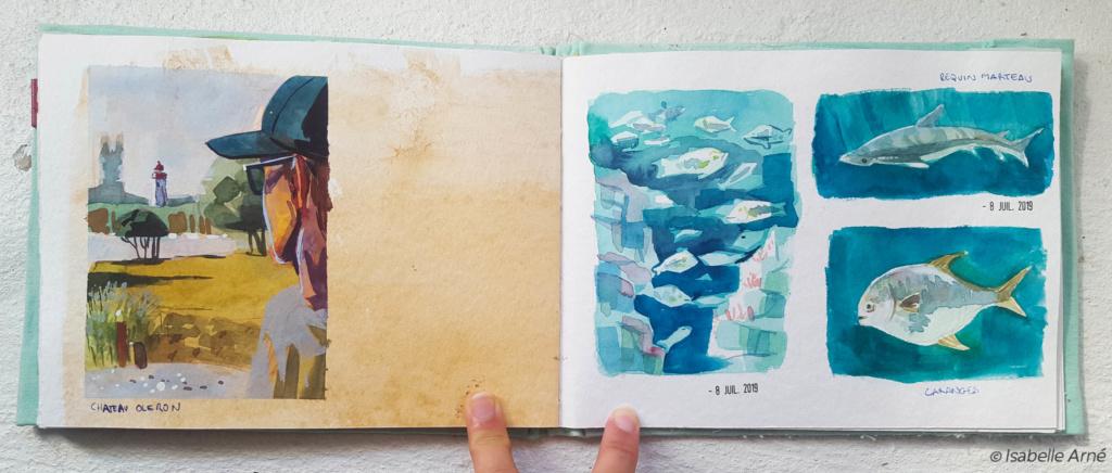 Sketchbook : IsaArne [ Challenge de l'ete P7 ] - Page 7 Illust13