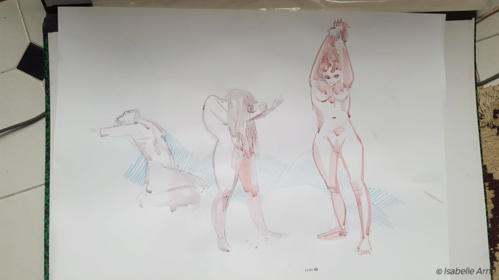 Sketchbook : IsaArne [ Challenge de l'ete P7 ] - Page 7 Illust33