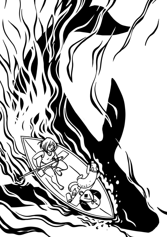 Sketchbook : IsaArne [ Challenge de l'ete P7 ] - Page 6 Inktob11