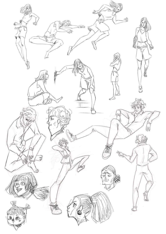 Sketchbook : IsaArne [ Challenge de l'ete P7 ] - Page 7 Sketch10