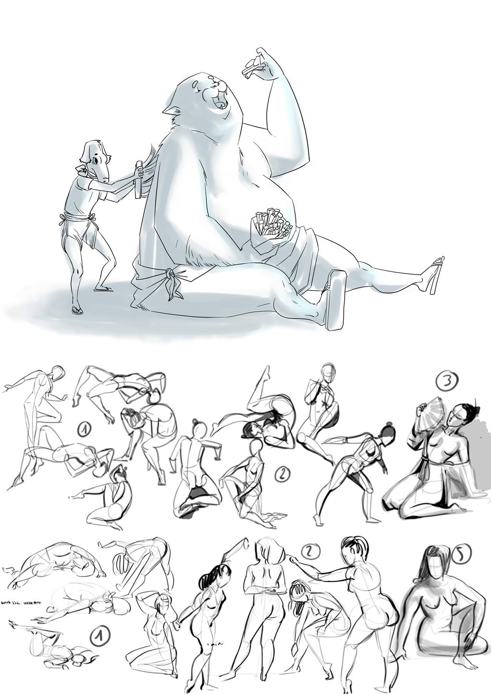Sketchbook : IsaArne [ Challenge de l'ete P7 ] - Page 7 Sketch11