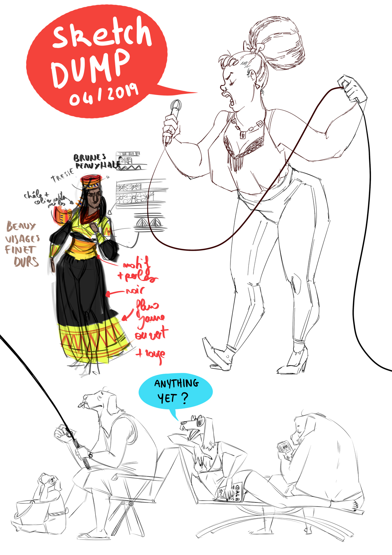 Sketchbook : IsaArne [ Challenge de l'ete P7 ] - Page 7 Sketch12