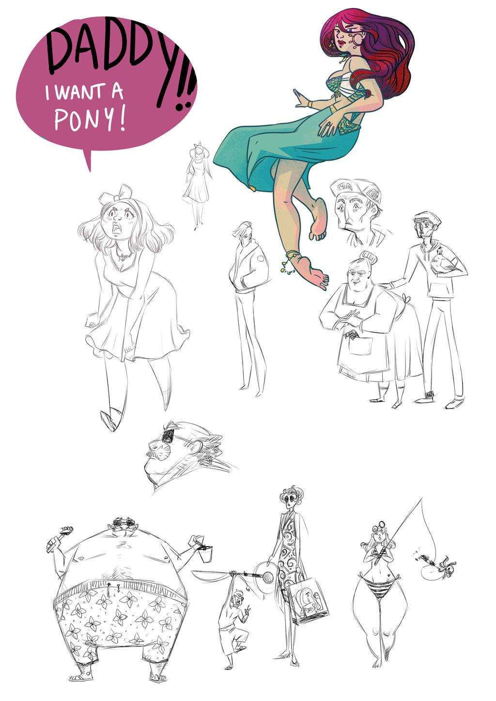 Sketchbook : IsaArne [ Challenge de l'ete P7 ] - Page 7 Sketch13