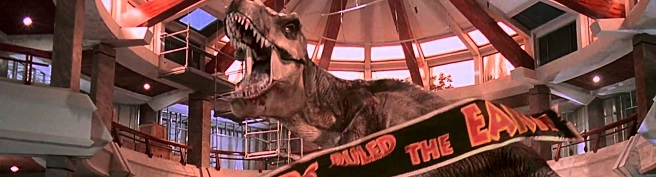 why make the Rex from the first movie the only surviving T-Rex? Jpbann10
