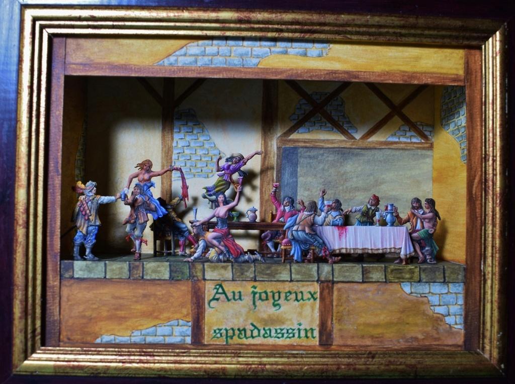 l'auberge du Coq Hardi en 1640 - diorama en boite - plat 30mm - Page 2 Au_joy10