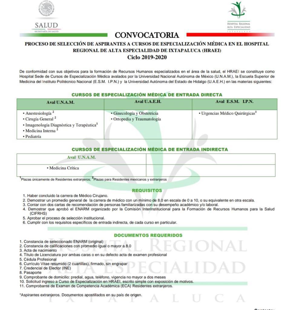SEDE HOSPITAL DE ALTA ESPECIALIDAD DE IXTAPALUCA  4b719710