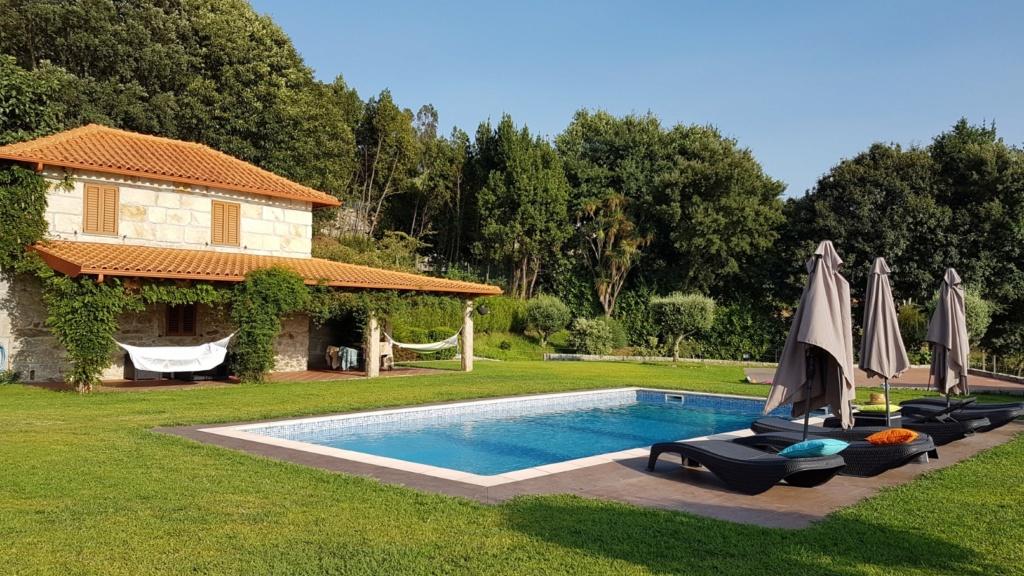 Portugal - Jardins région de Guimaraes  20180308