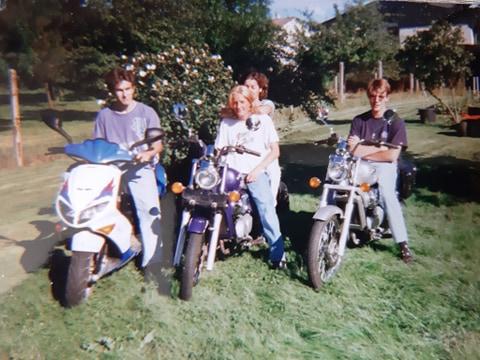 Vos photo d'époque cyclo temps des yéyés garage  93518610