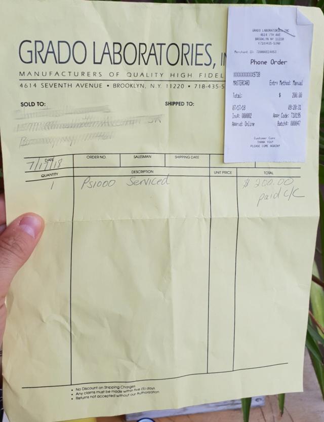 (MI) Vendo Cuffie Grado PS1000e PS1000 20180928