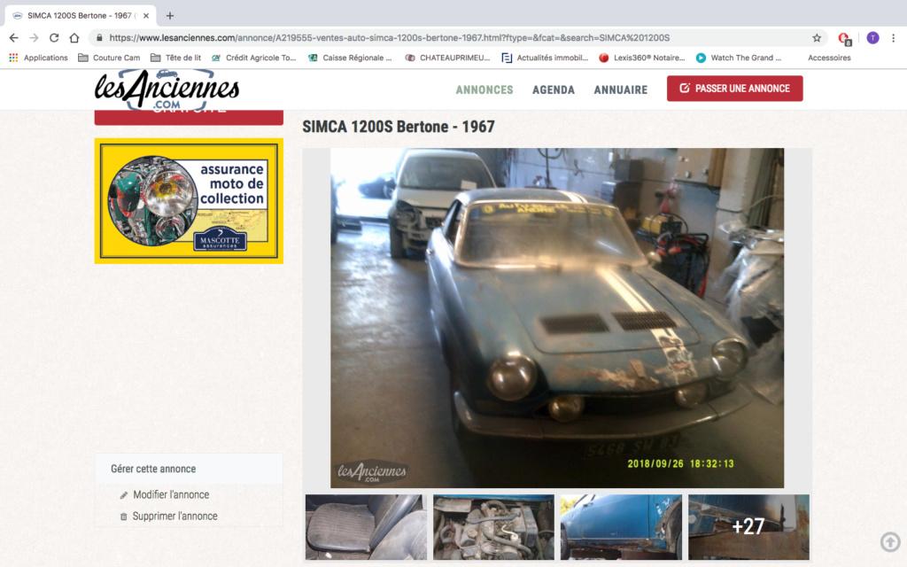 1200S à vendre sur internet Captur12