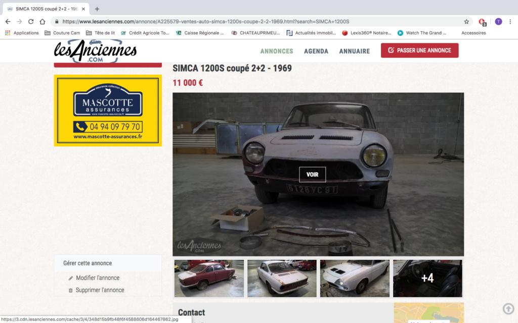 1200S à vendre sur internet Captur14