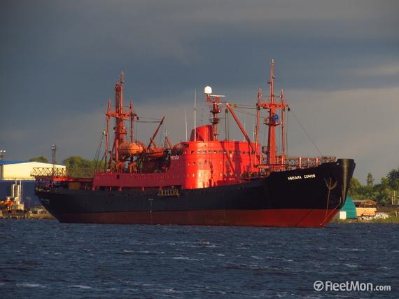 sowjetisches Forschungs-Schiff Michail Somow 14145010