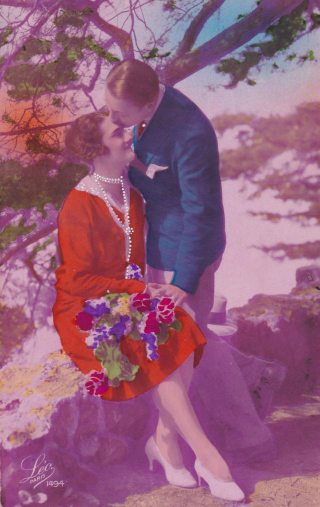 Romantische Postkarten  5310