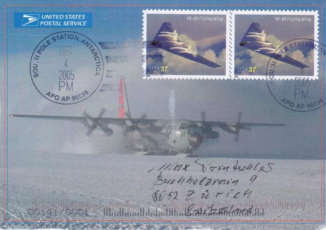 Polarflug mit einer LC-130 Hercules. 6210