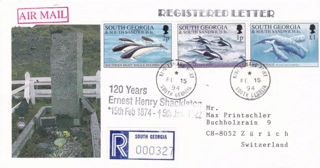 South Georgia und südliche Sandwich-Inseln 74a10