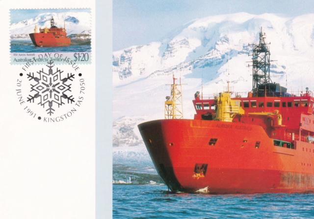 Eisbrecher: Aurora Australis und M.S.Icebird 84b10