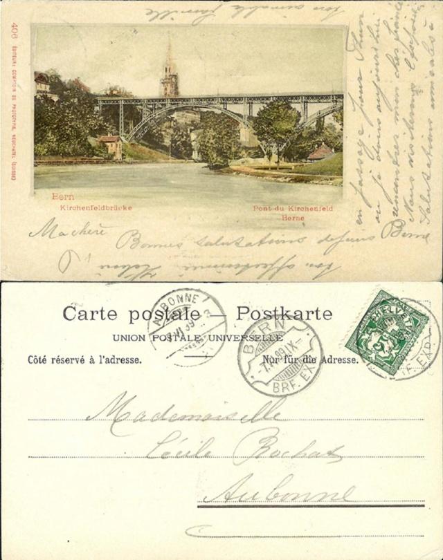 Kirchenfeld-Brücke Bern. Ak_ch_66