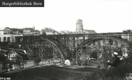 Kirchenfeld-Brücke Bern. Fp_d_410