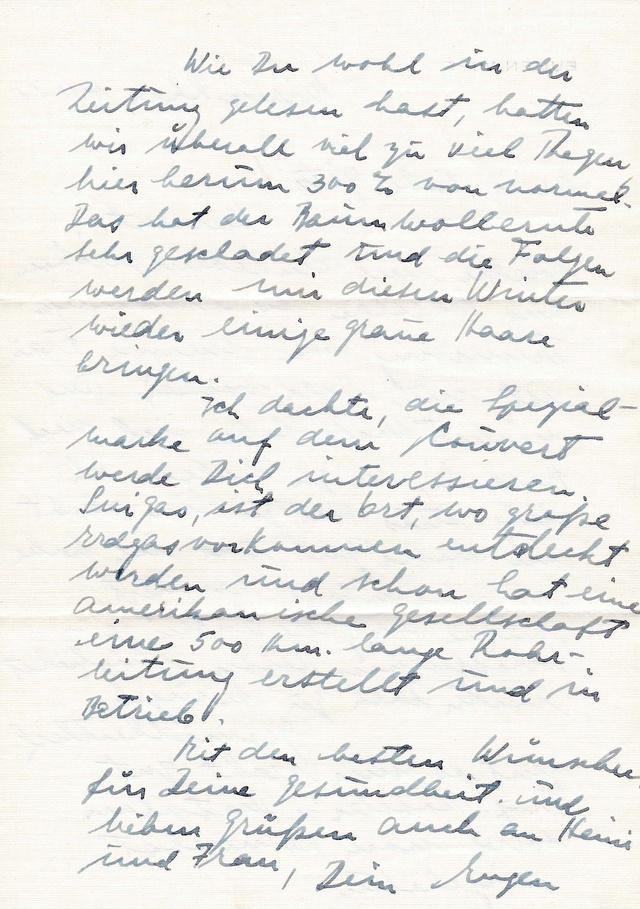 Mein Sammelgebiet: Alte Briefe mit Einblick in die früheren Leben. Img_2114