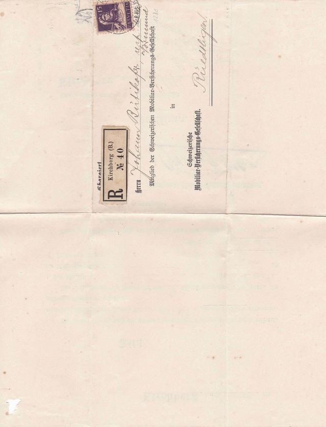 Mein Sammelgebiet: Alte Briefe mit Einblick in die früheren Leben. Img_2115