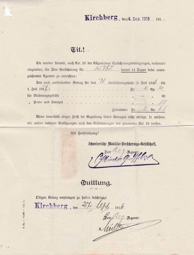 Mein Sammelgebiet: Alte Briefe mit Einblick in die früheren Leben. Img_2116
