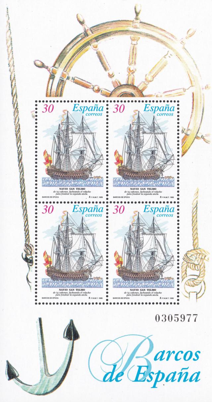Kleinbogen Alte Segelschiffe Spanien  Img_2208