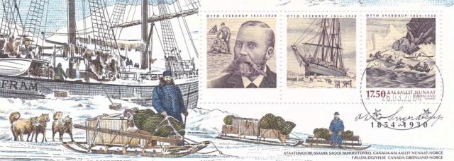 Kleinbogen Norwegen 2004 Otto Sverdrup, Polarforscher Img_2228