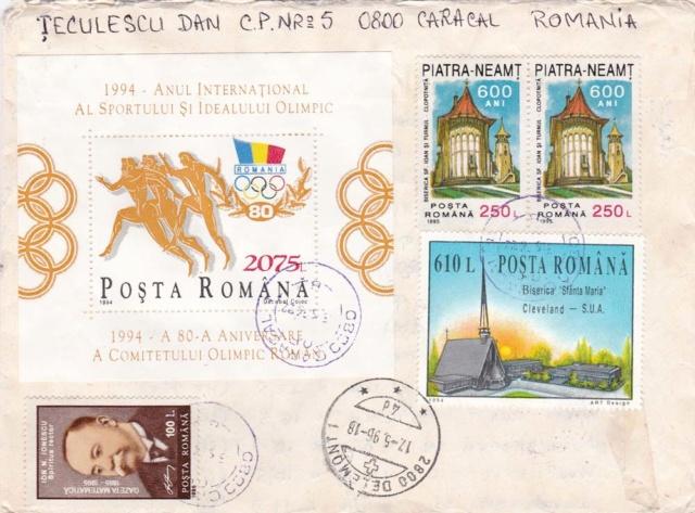 Pilze-Briefe und einzelne Briefmarken Rumänien  Img_2260