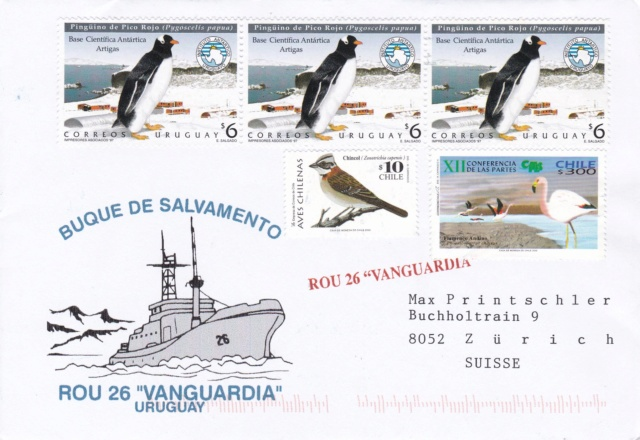 Forschungs-Basis Cientifica Artigas und Rettungs-Schiff ROU 26 Vanguardia Img_2432
