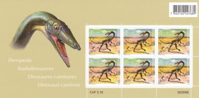 Kleinbogen: Dinosaurier aus Schweizer Fundstätten Img_2443