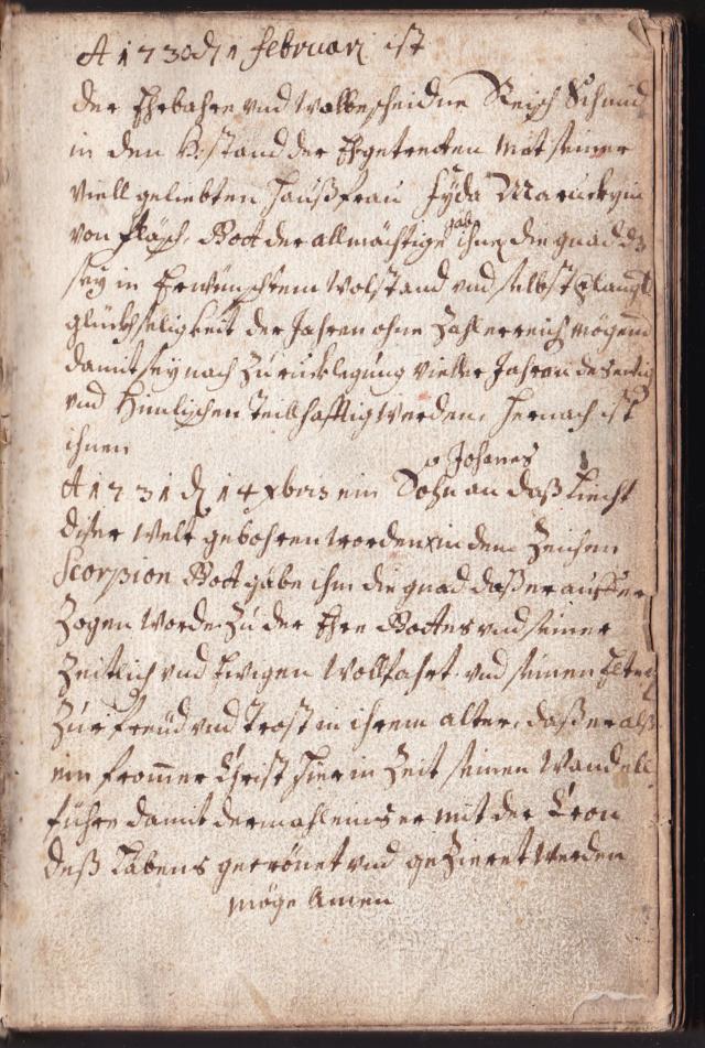 Suche Hilfe beim Verstehen eines alten, handgeschriebenen Textes. Img_2465