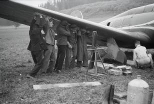 Swissair-Balkan-Rundflug mit Hindernissen 1934 P808_112