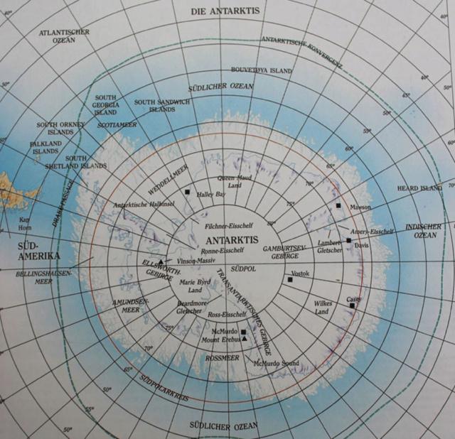 Flüge: Forschungsstation Davis, Antarktis Szdpol10
